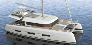 Dufour 48 catamaran for charter in Greece Croatia