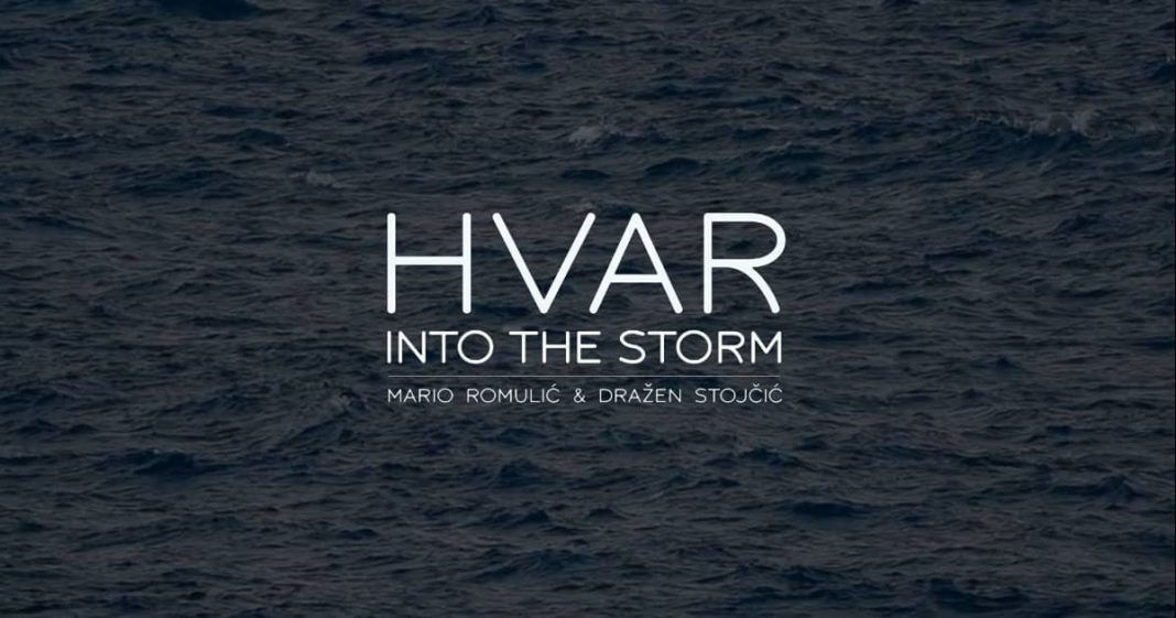 Hvar in Storm Croatia