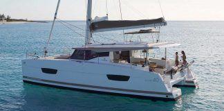 Fountaine Pajot catamaran Lucia 40 for charter in Croatia and Greece