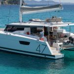 Fountaine Pajot Saona 47 Catamaran Charter Croatia
