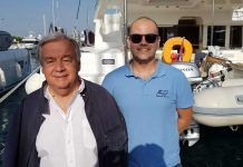 António Guterres, United Nations Secretary-General Chartered a catamaran in Croatia