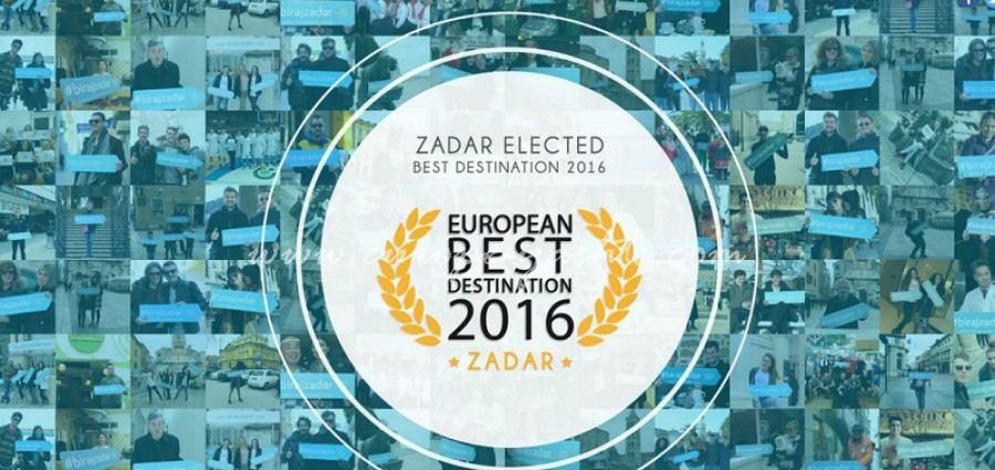 Zadar- best European Destination 2016