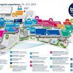 Dusseldorf Boat Show 2019 map